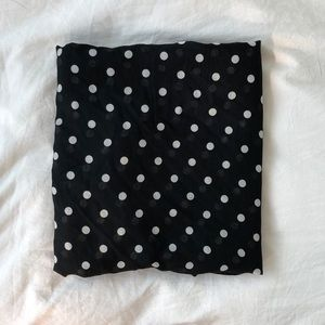 Zara light scarf in polka dot